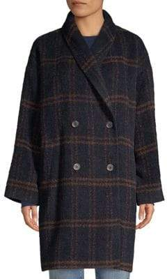 Eileen Fisher Oversize Double-Breasted Coat