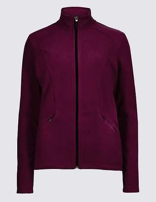 Marks and Spencer Panelled Fleece Jacket