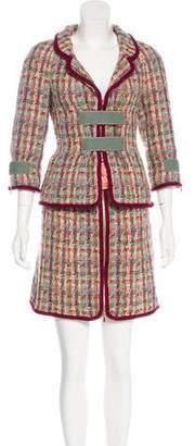 Chanel 2017 Fantasy Tweed Skirt Suit