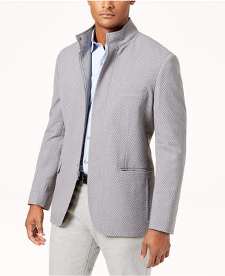 Alfani Men's Mini Chevron Blazer, Created for Macy's