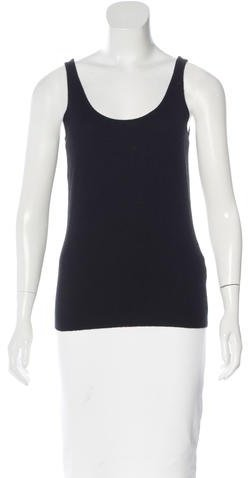Ralph Lauren Sleeveless Cashmere Knit Top w/ Tags