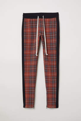 H&M Sweatpants with Drawstring - Red