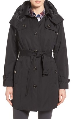 Women's London Fog Single Breasted Trench Coat $278 thestylecure.com