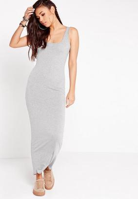 Sleeveless Maxi Dress Grey $19 thestylecure.com