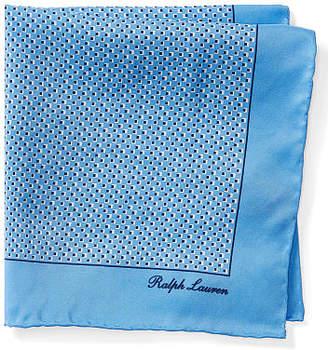 Ralph Lauren Print Silk Pocket Square