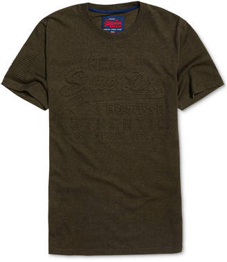 Superdry Men Vintage Authentic Logo Embossed Graphic T-Shirt