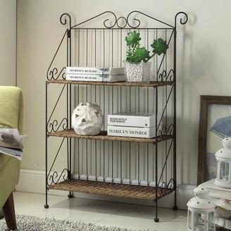 4d Concepts 4D Concepts Farmington 3-Tier Folding Bookcase