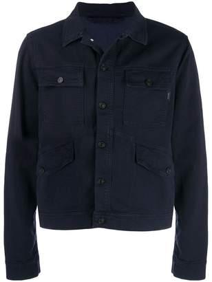 Paul Smith denim shirt panel jacket