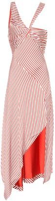 Jonathan Simkhai Striped midi dress