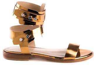 Formentini Perla Enrica Leather Sandal