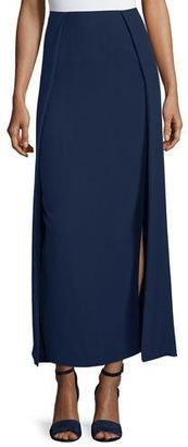 Ralph Lauren Collection High-Waist Carwash Midi Skirt, Navy $1,590 thestylecure.com