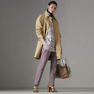 Burberry Tropical Gabardine Car Coat