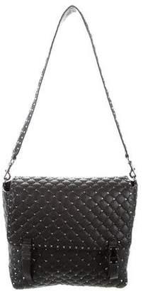 Valentino Rockstud Messenger Flap Bag
