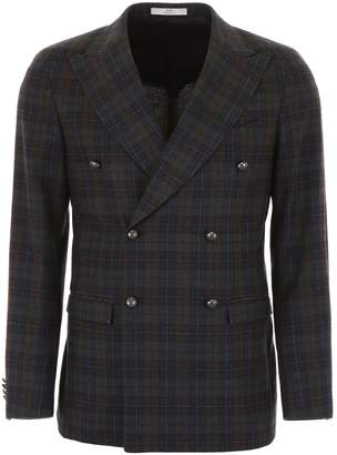 Corneliani Cc Collection CC Collection Tartan Jacket
