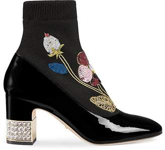 Gucci Women's Candy Sock Ankle Boots