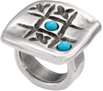 Uno de 50 Te Toca Engraved Tic-Tac-Toe Ring