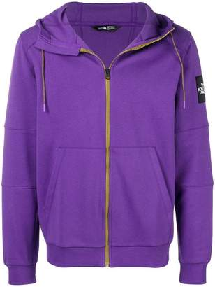 The North Face hooded jersey jacket