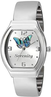 Inspirations by Timelink Women's 38805 Inspirations Analog Display Analog Quartz Silver Watch