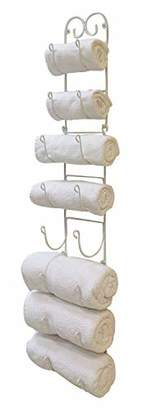 Useful UH-TR221 Wall Mounted Towel and Wine Bottle Rack Holder