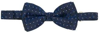 Etro dotted silk bow-tie
