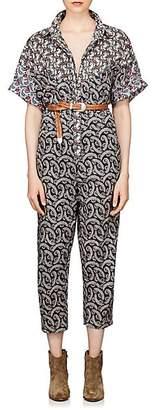 Etoile Isabel Marant Women's Lindsie Cotton Voile Jumpsuit - Pink