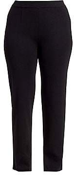 Misook Misook, Plus Size Misook, Plus Size Women's Tailored-Fit Straight-Leg Pants