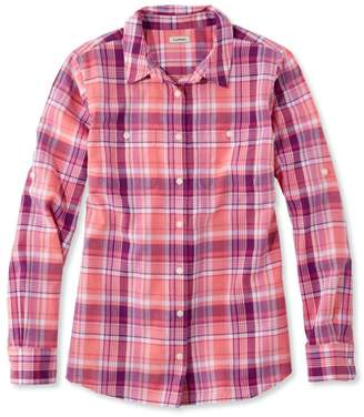 L.L. Bean L.L.Bean Madras Shirt, Long-Sleeve