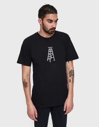 Obey Ladder to Nowhere Tee in Black
