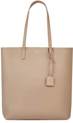 Saint Laurent Leather Shopper Tote Bag