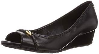 Cole Haan Women's Emory Braided Band Open Toe Wedge (40MM) Pump