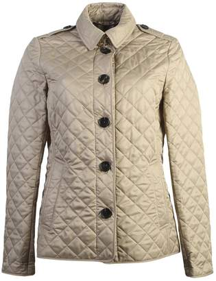 Burberry Beige Ashurst Quilted Jacket