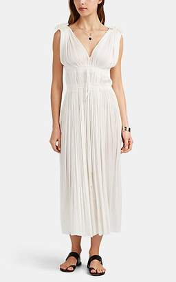 Elena Makri Mykonos Women's Vereniki Silk Cover-Up Dress - White