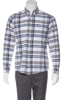 Jack Spade Linen-Blend Shirt