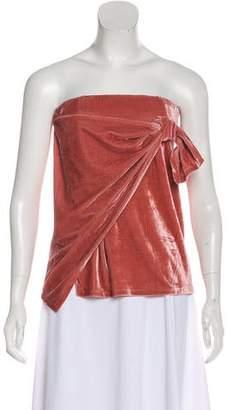 Tularosa Velvet Mini Skirt