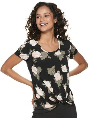 Candies Juniors' Candie's Knotted Top