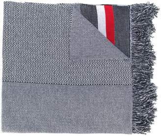 Stella McCartney zig-zag patterned scarf