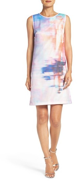 Women's Julia Jordan Print Woven Swing Dress