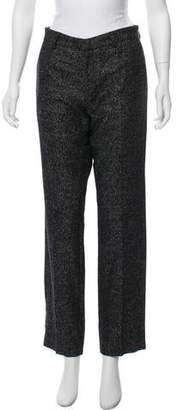 Soulland Wool-Blend Mid-Rise Pants