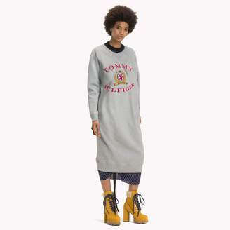 Tommy Hilfiger Luxury Logo Sweatshirt Dress