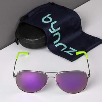 Bynnz 'Monza' Aviator Sunglasses