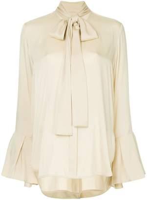 Ellery Noveau pussy-bow blouse