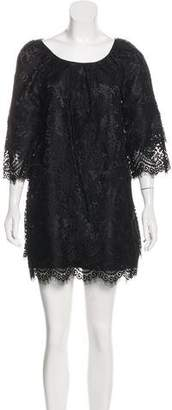 Leifsdottir Lace Mini Dress