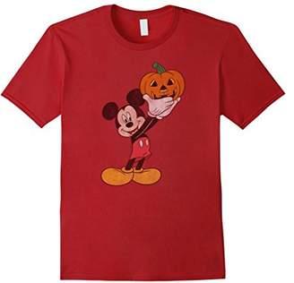 Disney Mickey Mouse Pumpkin Halloween T Shirt