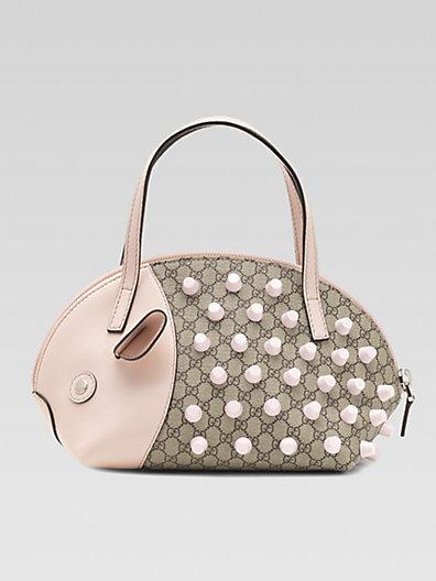 Gucci Girl's Micro GG Zoo Porcupine Handbag