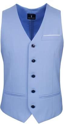 Toms Tom's Ware Mens Premium Slim Fit Fully Lined Twill Vest TWMV03-S