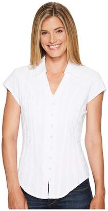 Scully Cantina Celia Cap Sleeve Top Women's Blouse