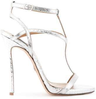 DSQUARED2 snake embossed Evening Treasures sandals