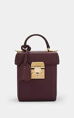 Mark Cross Women's Grace Small Leather Box - Purple
