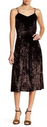 Gracia Strappy Velvet Dress