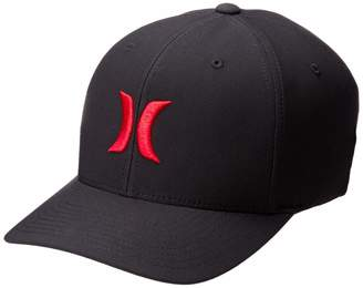 Hurley Dri-Fit One and Only Hat - Black/University Red II - L/XL